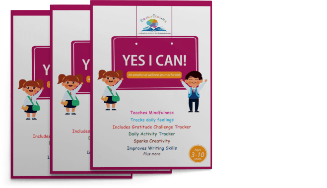 Yes I Can Journal for Kids 2